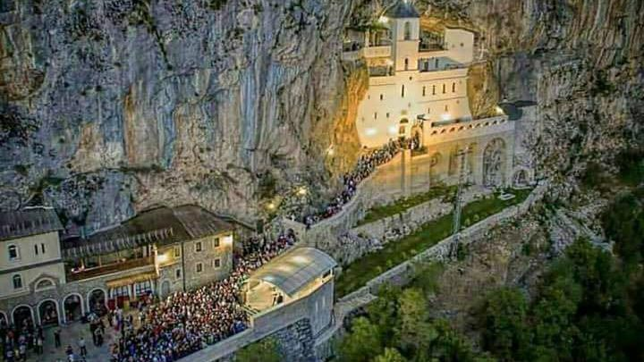 Monastery Ostrog a place to visit